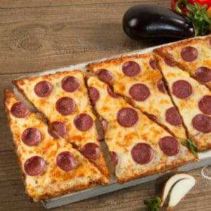 Point of Food Salami-Pizza