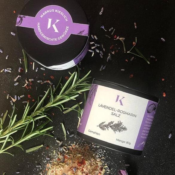 Markus Kieslich Lavendel-Rosmarin-Salz