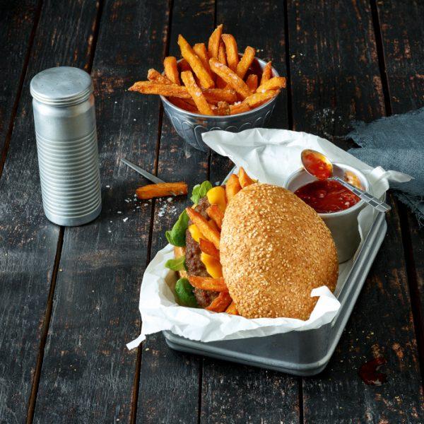 Salomon FoodWorld Premium Giant Burger Bun