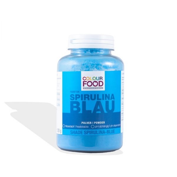 Lebensmittelfarbe Colourfood Blau Pulver