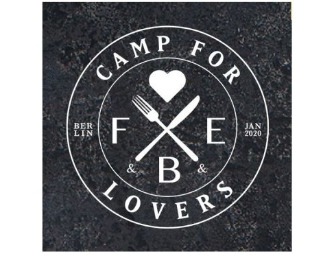 Messestand beim Camp for F&B&E Lovers