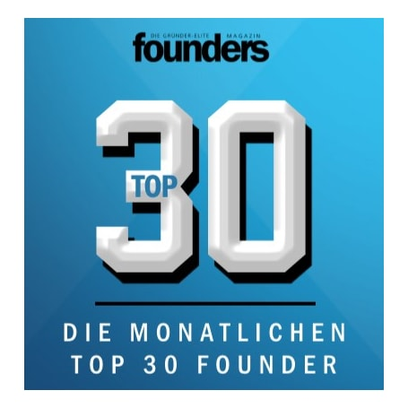 Founders Magazin Top 30