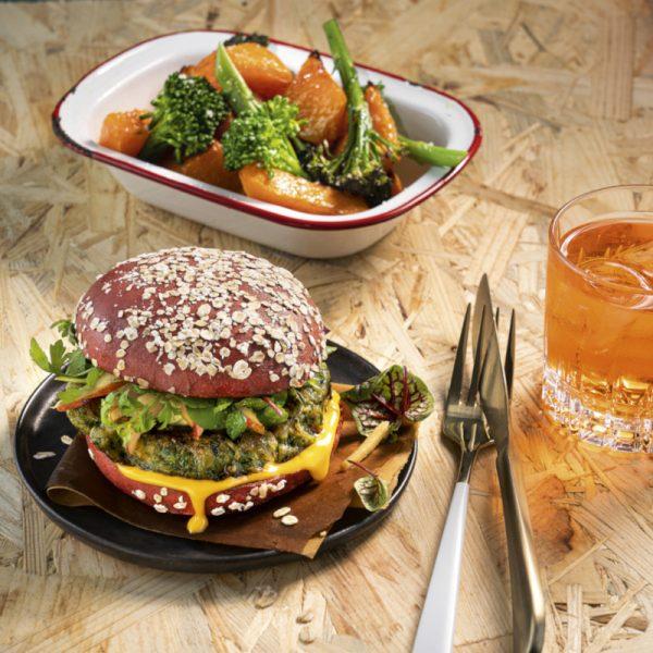 Salomon Foodworld Green Oat Burger