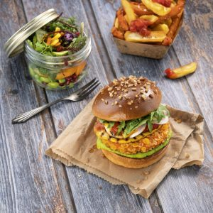 Salomon Foodworld Green Heroes Chrunchy Chikn Burger