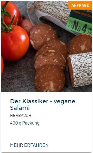 Herbasch Vegane Salami