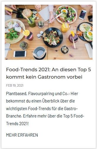 Gastro-Food-Trends 2021