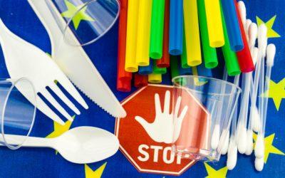 Essbare Strohhalme als Alternative zum Plastikstrohhalm