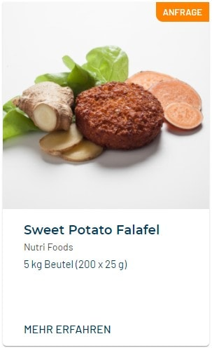 Sweet Potato Falafel Nutri Foods