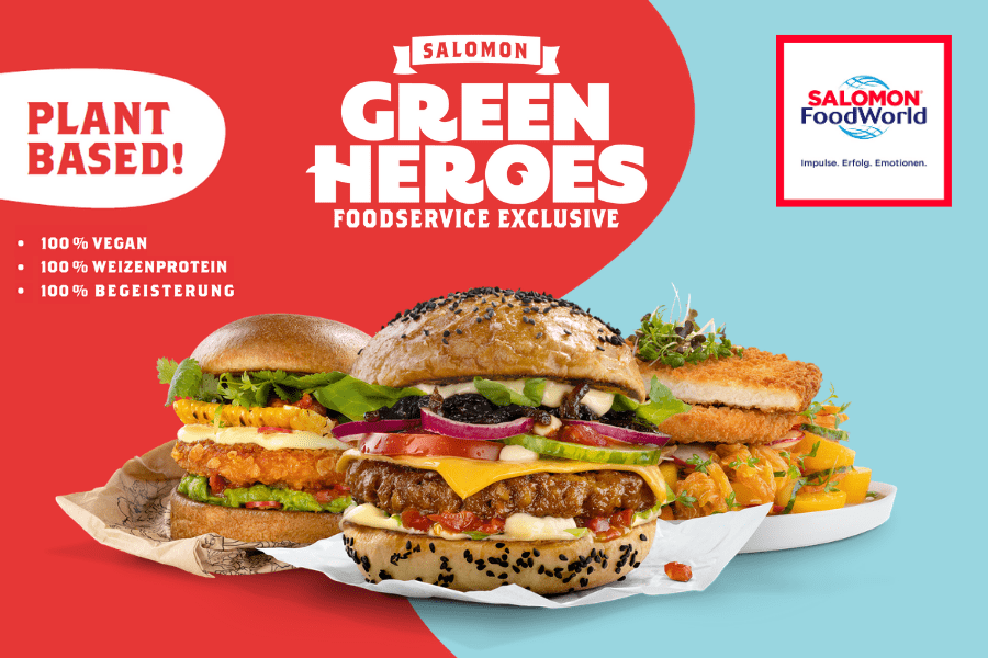 Green Heroes Aktion - SALOMON FoodWorld