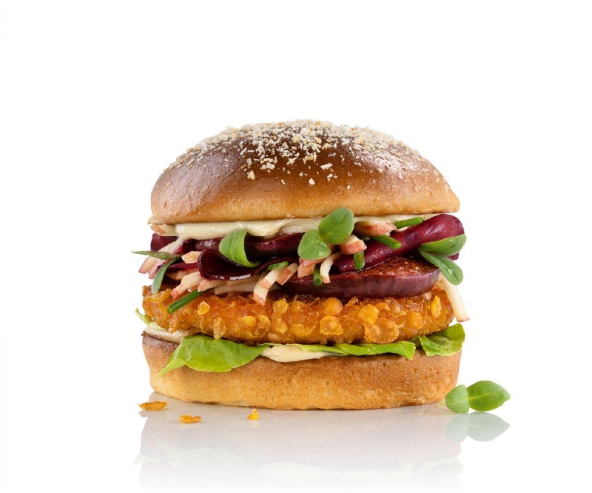 Green Heroes Crunchy Chik'n Burger