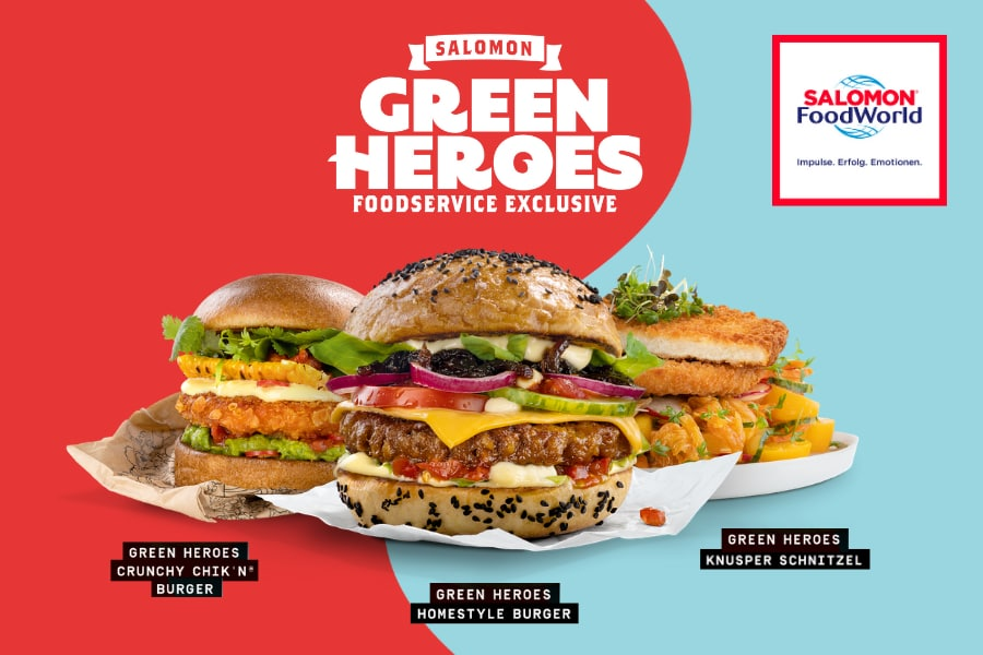 Green Heroes - SALOMON FoodWorld