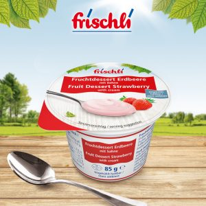 frischli Fruchtdessert Erdbeere