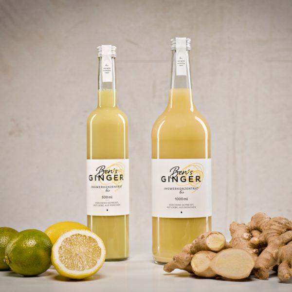 Bens Ginger Ingwerkonzentrat (kein Ingwersirup)