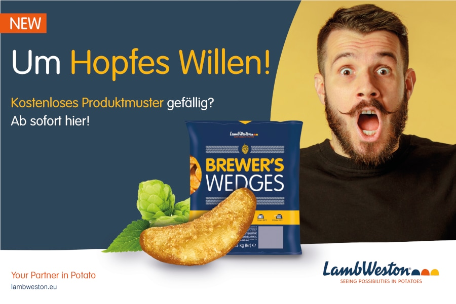 Brewer's Wedges Musteraktion