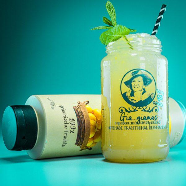 Gia Giamas Zitrone - Sirup-Alternative für hausgemachte Limonaden