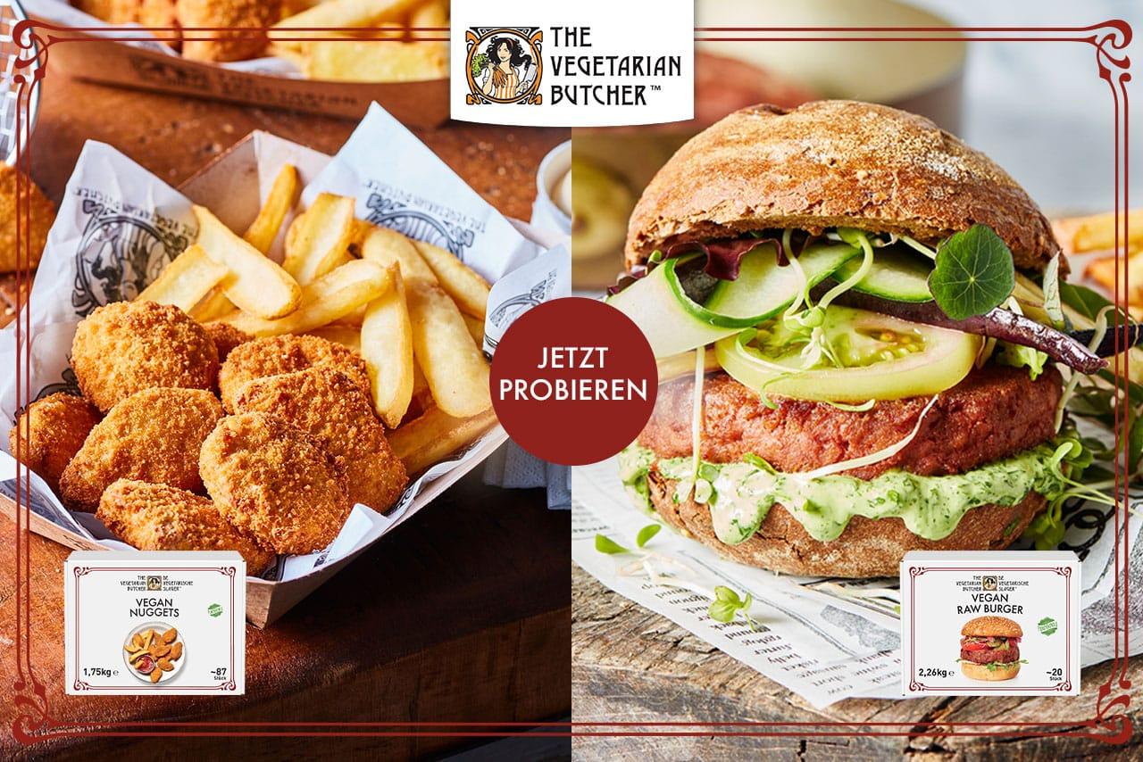 The Vegetarian Butcher Aktion