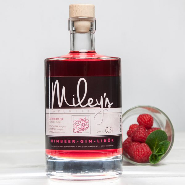 Mileys Himbeer-Gin-Likör
